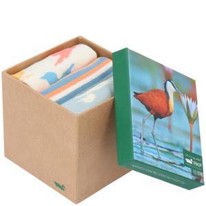 Pack 3 Calcetines Bambú Mujer Bird